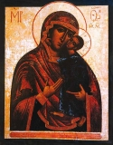 Icon of the Mother of God of Tolga, Russia