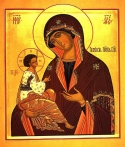 Icon of the Mother of God of Greben, Russia
