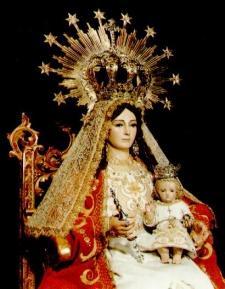 Virgen de España, Calañas, Huelva, Andalucía, Spain